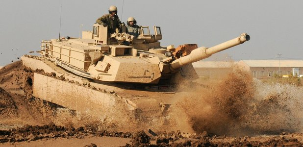 Full m1 abrams training in iraq f826248eab